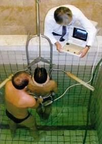 Вертикальное подводное вытяжение по методу К.Молла